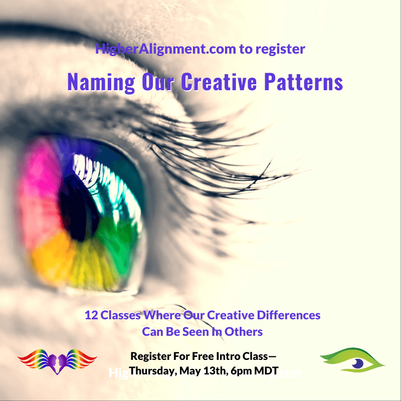 Picture of Inner Seeing 1 FREE INTRO: 5/13 @ 6  pm MDT Naming Our Creative Patterns